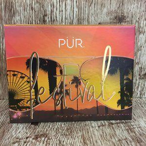 NEW PUR Festival Pressed Pigment Eyeshadow Palette